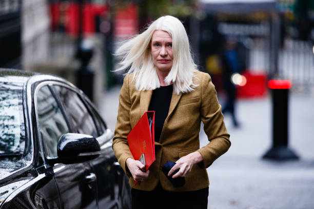 GBR: UK Government Ministers Attend Weekly Cabinet Meeting