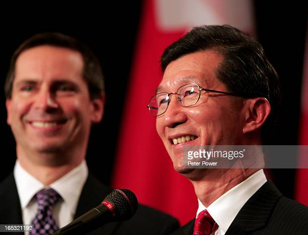 Michael Chan was sworn in today as Ontario's new revenue minster, only days after winning the recent bi-election in Markham. He was presented by...