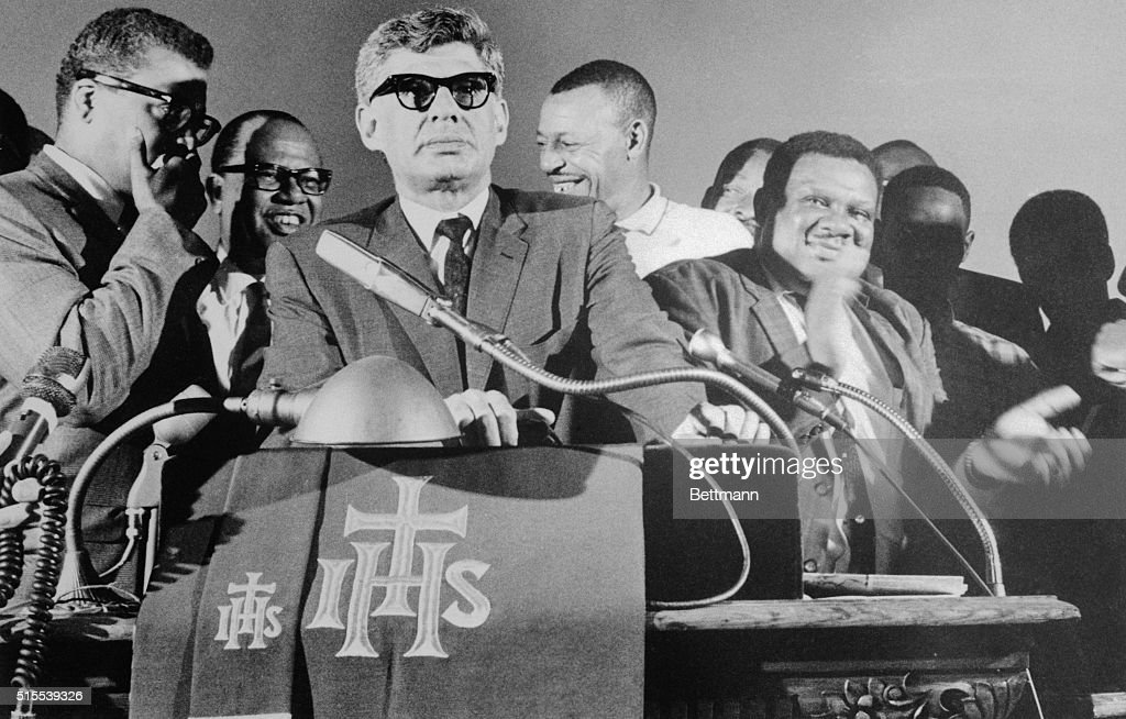 Civil Rights Activists Standing At Microphones Pictures Getty Images