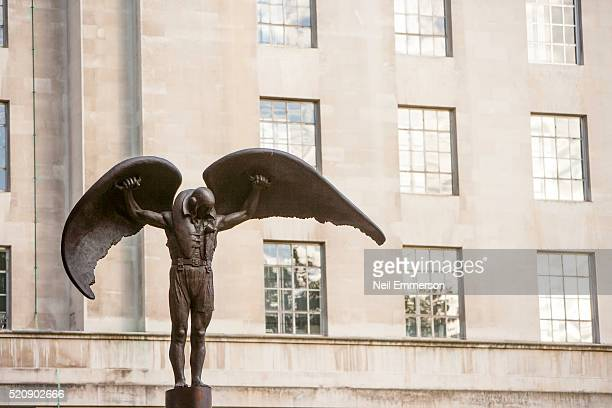ministry of defence building london, uk - battle of britain stock pictures, royalty-free photos & images