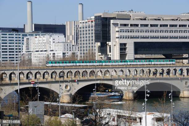 Ministry of economy and finance of Bercy on the banks of the Seine in Paris on September 20 2015 in Paris France