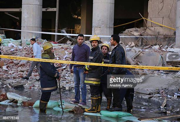Ministry of Health and Population states that the death toll of bomb attack near Cairo Security Directorate headquarters has risen to four and...