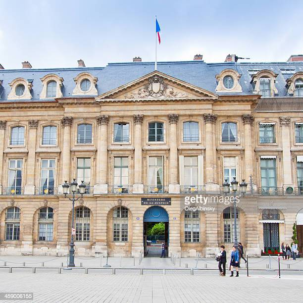 ministere de la justice, paris. - ministry of justice stock pictures, royalty-free photos & images