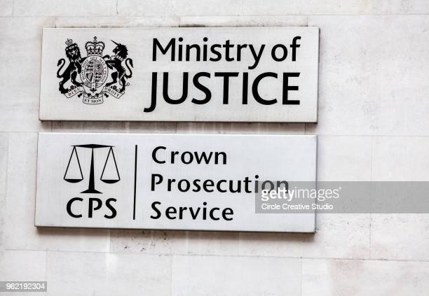 ministry of justice, united kingdom - whitehall london stock photos and pictures