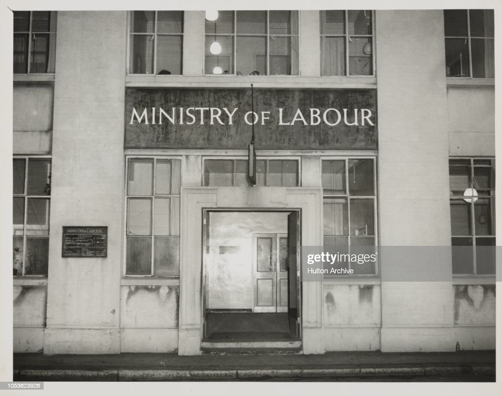 Ministry of Labour, Labour Exchange at Westminster London SW