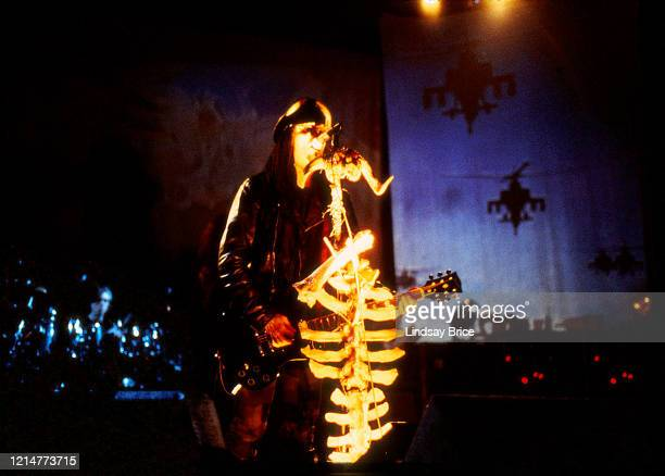 Ministry performs at the Universal Amphitheatre in Los Angeles on December 27 1992 in Los Angeles