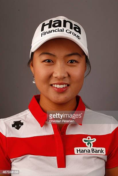 Minjee Lee of Australia poses for a portrait ahead of the LPGA Founders Cup at Wildfire Golf Club on March 18 2015 in Phoenix Arizona