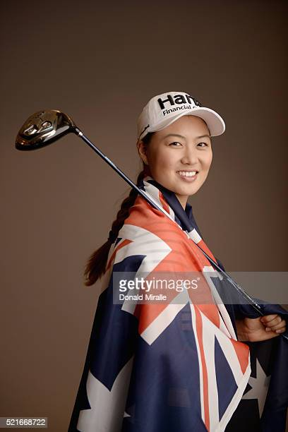 Minjee Lee of Australia poses for a portrait during the KIA Classic at the Park Hyatt Aviara Resort on March 23 2016 in Carlsbad California