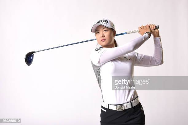 Minjee Lee of Australia poses for a portrait during the LPGA KIA CLASSIC at the Park Hyatt Aviara on March 20 2018 in Carlsbad California