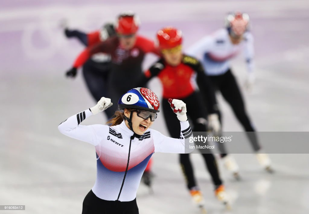 Short Track Speed Skating - Winter Olympics Day 8 : News Photo