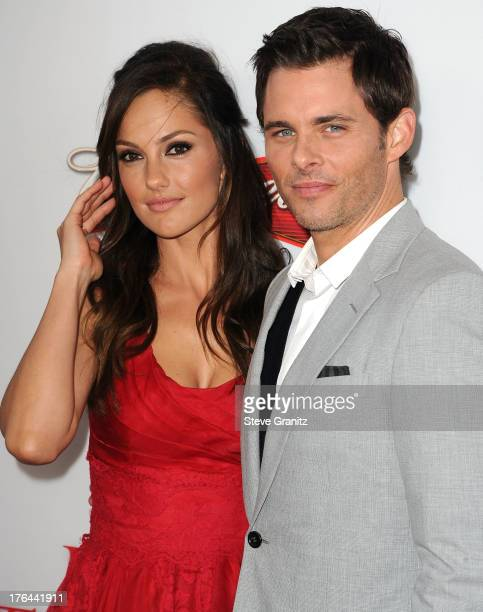 Minka Kelly and James Marsden arrives at the 'Lee Daniels' The Butler' Los Angeles Premiere at Regal Cinemas LA Live on August 12 2013 in Los Angeles...