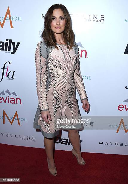 Minka Kelly Arrives At The The Daily Front Rows 1st Annual Fashion Los Angeles Awards At
