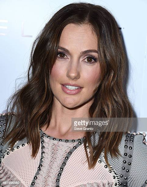 Minka Kelly arrives at the The Daily Front Row's 1st Annual Fashion Los Angeles Awards at Sunset Tower Hotel on January 22 2015 in West Hollywood...