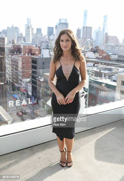 Minka Kelly attends Dove Chocolate Journey Series Screening at The New Museum on July 26 2017 in New York City