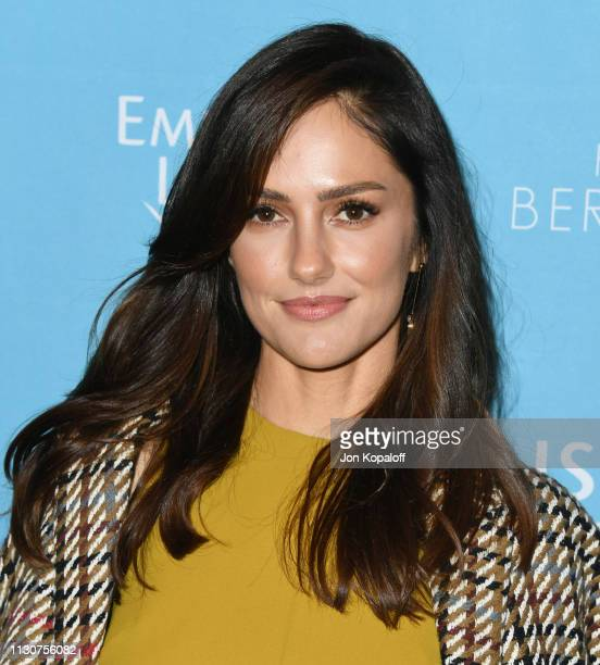 Minka Kelly attends EMILY's List 2nd Annual Pre-Oscars Event at Four Seasons Los Angeles at Beverly Hills on February 19, 2019 in Los Angeles,...