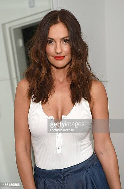 Minka Kelly attends The A List 15th Anniversary Party on September 1, 2015 in Beverly Hills, California.