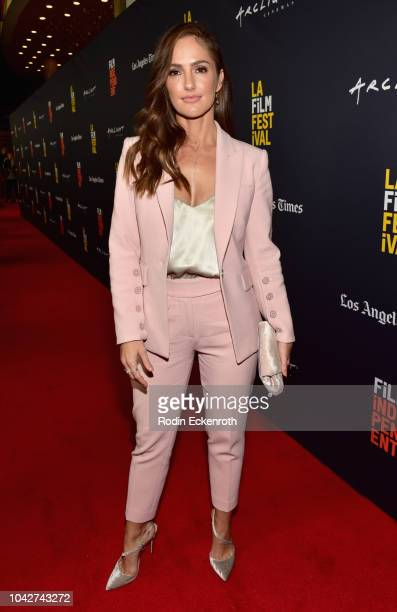 """Minka Kelly attends the Closing Night Screening of """"Nomis"""" during the 2018 LA Film Festival at ArcLight Cinerama Dome on September 28, 2018 in..."""