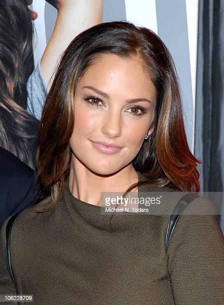 Minka Kelly celebrates Esquire's sexiest woman alive at Plunge at The Gansevoort Park Hotel on October 27 2010 in New York City
