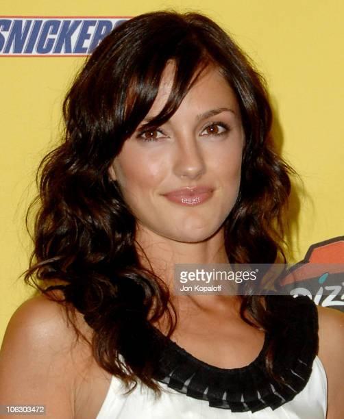 Minka Kelly during First Annual Spike TV's Guys Choice Press Room at Radford Studios in Studio City California United States