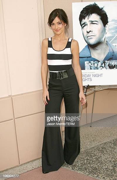 Minka Kelly during Friday Night Lights Photo Call at Leonard H Goldenson Theater in North Hollywood California United States