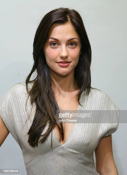 Minka Kelly during GM Style Celebrity Fittings at GM Design Center at Color Studio at GM Design Center in Detroit Michigan United States