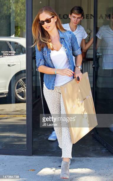 Minka Kelly is seen in West Hollywod on June 28 2012 in Los Angeles California