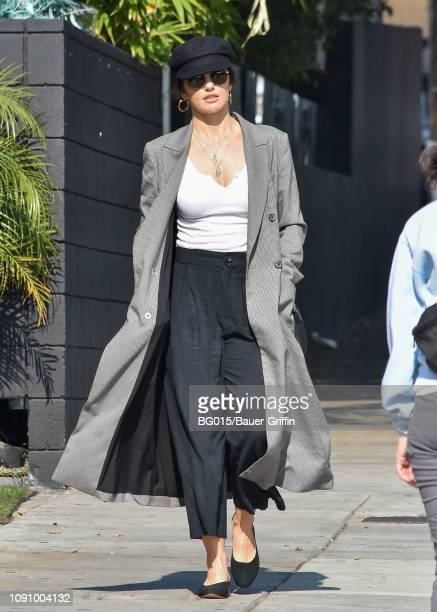 Minka Kelly is seen on January 29, 2019 in Los Angeles, California.