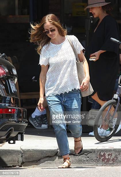 Minka Kelly is seen on July 06 2016 in Los Angeles California