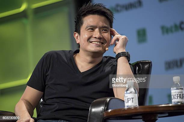 Min-Liang Tan, co-founder and chief executive officer of Razer Inc., smiles during the TechCrunch Disrupt San Francisco 2016 Summit in San Francisco,...