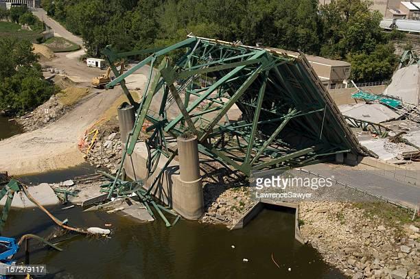 ミネアポリスブリッジクリーンアップの縮小(collapse