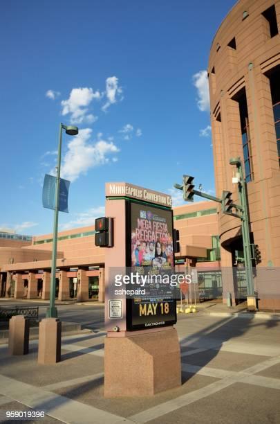 Minneapolis Convention Center marquee