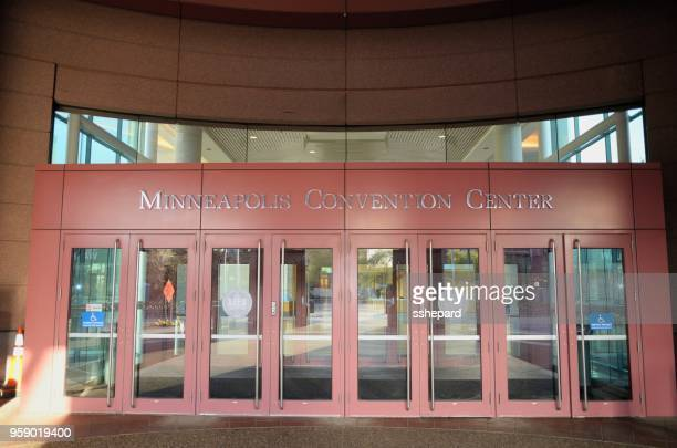 Minneapolis Convention Center sign