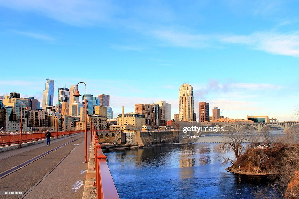 Minneapolis Downtown : Stock Photo