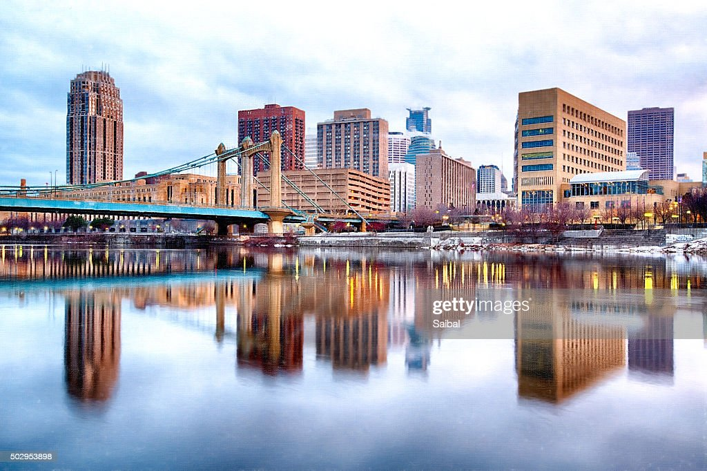 Minneapolis Downtown : ストックフォト