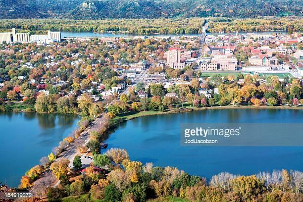 Minneapolis Minnesota Autumn cityscape