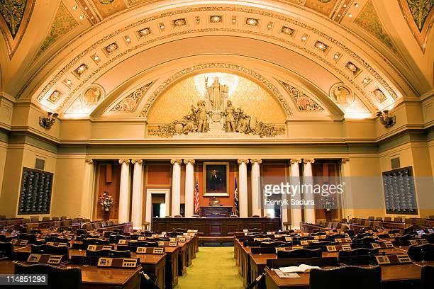 USA, Minneapolis, Minnesota, State Capitol building interior