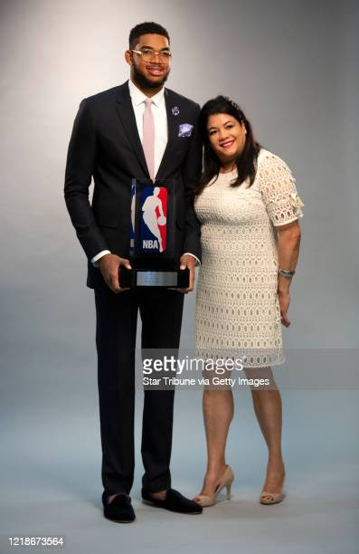 Minneapolis, MN May 16: After a weeks-long battle with COVID-19, Jacqueline Cruz, the mother of Timberwolves center Karl-Anthony Towns, died Monday...