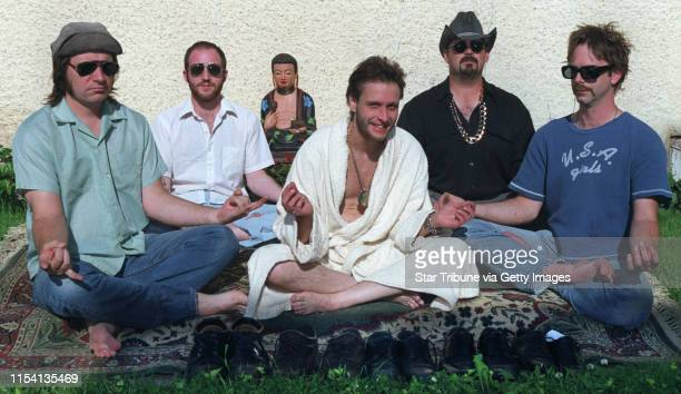 Minneapolis MN Tuesday 6/6/2000 Members of Danny Commando y Los Guapos are Rich Mattson Jon Davis Baby Grant Johnson Bob Anderson and Dan Haeg...