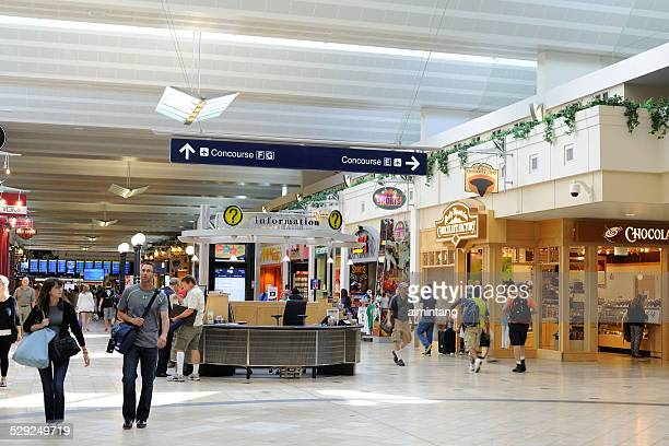 minneapolis - saint paul international airport - kiosk stock pictures, royalty-free photos & images