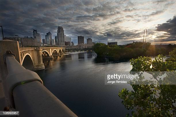 Minneapolis with a flare