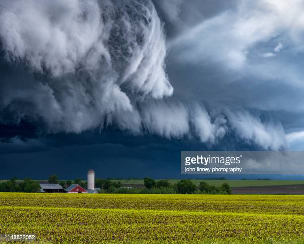 minnesota arcus cloud - great plains stock pictures, royalty-free photos & images