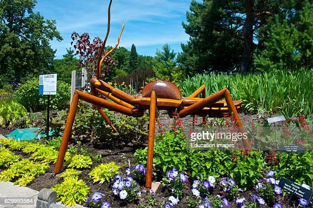 Minnesota Chaska Minnesota Landscape Arboretum Giant Bug Exhibit Assassin Bug