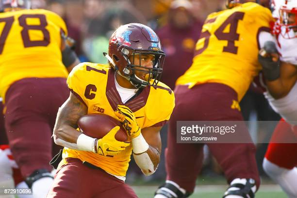 Minnesota Golden Gophers running back Rodney Smith in action during the Big Ten Conference game between the Nebraska Cornhuskers and the Minnesota...