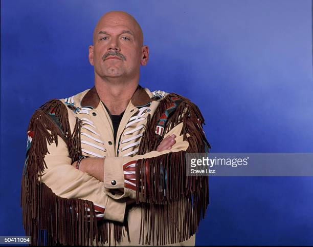 Minnesota Govelect Jesse Ventura former pro wrestler in serious portrait