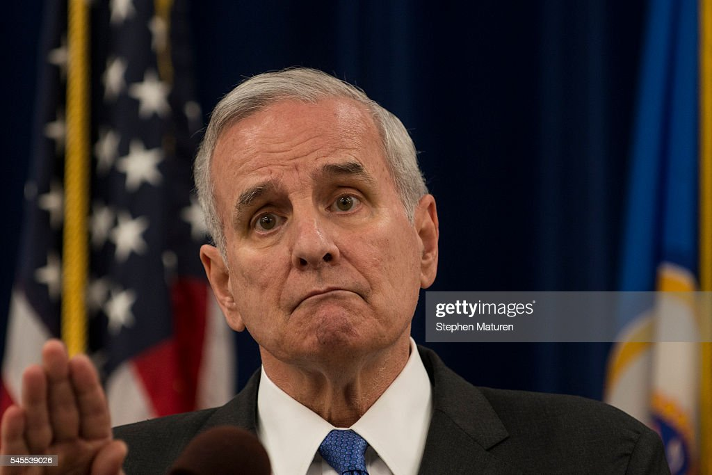 Minnesota Governor Mark Dayton Holds Media Briefing On Police Shooting That Killed Philando Castile