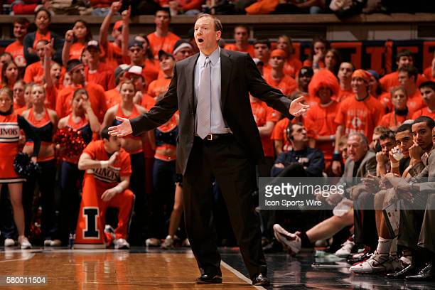 Minnesota head coach Dan Monson Illinois defeated the Minnesota Golden Gophers 8866 at the Assembly Hall in Champaign Il Illinois celebrated their...