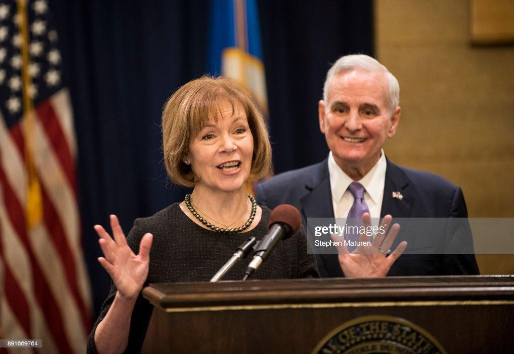 Minnesota Governor Mark Dayton Announces Replacement For Sen. Al Franken
