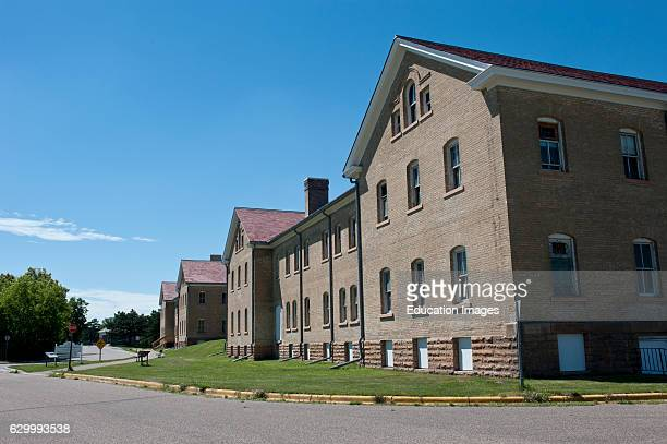 Minnesota Minneapolis Fort Snelling Building 17 and 18 US Army Cavalry Barracks