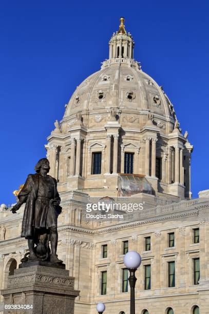 Minnesota State Capitol Building in Saint Paul, Minnesota, United States