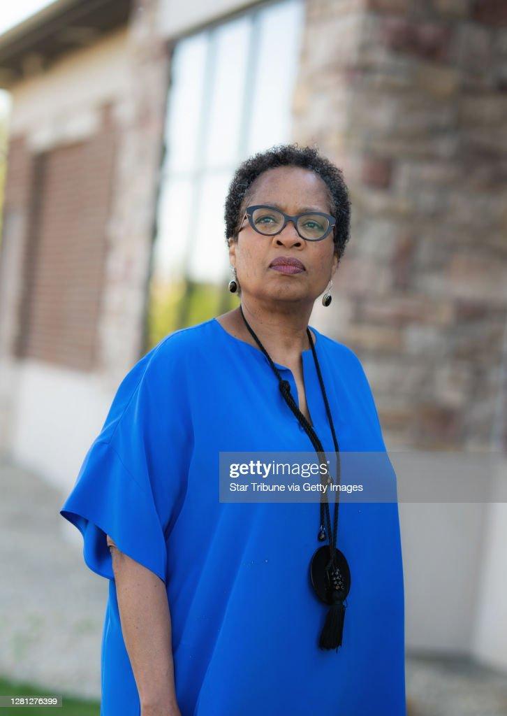 Marquita Stephens, June 2020, by Glen Stubbe, Star Tribune : ニュース写真